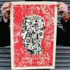Machine Head Limited Edition Silk Screen Print Artists Prints image