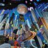 Dan Johnson sci-fi collage europa giclee art print image