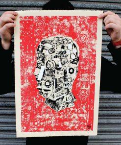Machine Head Limited Edition Silk Screen Print Artists Prints image