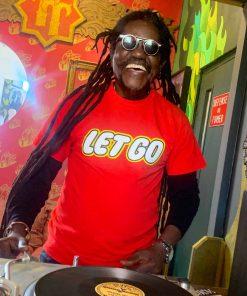 AnotherFineMesh Hand Printed T-Shirts LetGo DJTaskKalume image