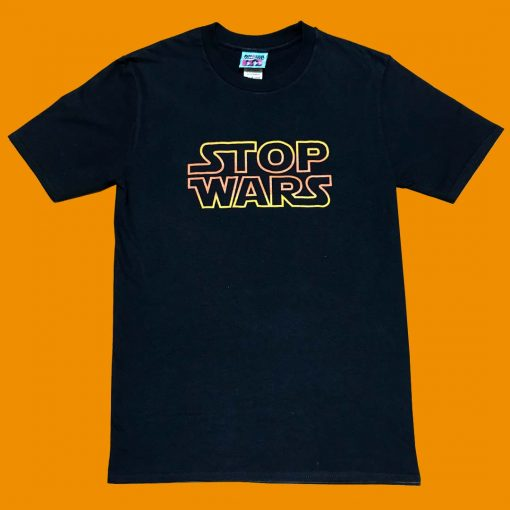 AnotherFineMesh Hand Printed TShirts StopWars images