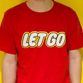 LetGo T-Shirt Design Logo Silkscreen Print image