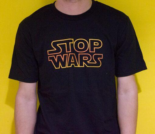 Stop Wars T-Shirt design
