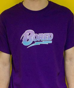 Bored Shirt Design Logo Silkscreen Print image