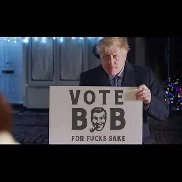 Bob Dobbs Vote Bob Boris image