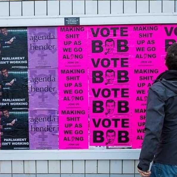 Bob Dobbs Vote Bob image