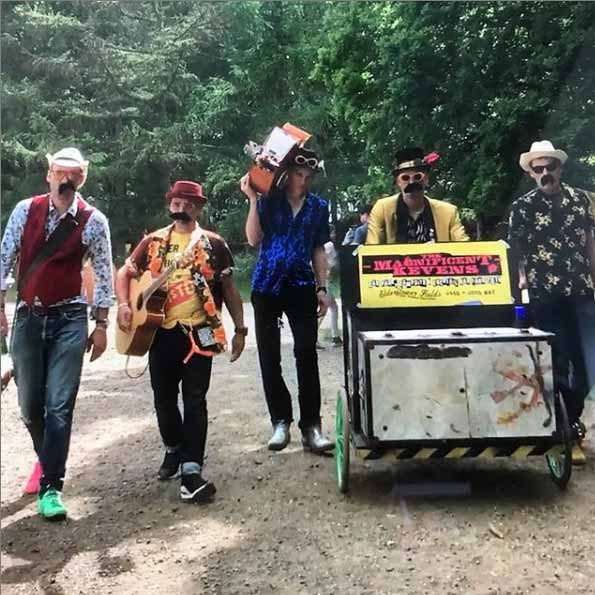 The Magnificent Kevens Festival Busking Band image