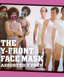 AnotherFineMesh Y-Front Face Masks Assorted Pack 3 Pack image
