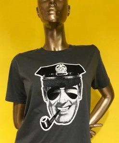 Policeman Bob Dobbs tee image