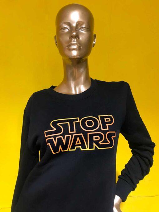 Stop Wars Sweatshirt image